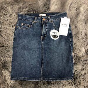 Dickies Perfect Shape Denim Skirt (PM879)